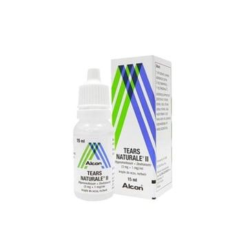 Tears naturale II adalah obat tetes mata yang digunakan untuk mencegah mata kering dan iritasi.