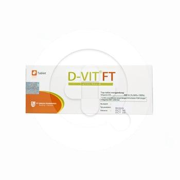 D-VIT FT Tablet 400 IU Tablet  harga terbaik 3215