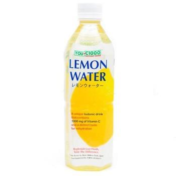 you c 1000 lemon water 500 mL