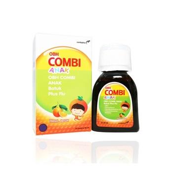 OBH Combi Anak Batuk Plus Flu Rasa Jeruk Sirup 60 mL harga terbaik 13515