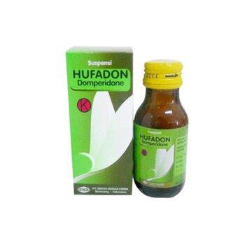 Hufadon suspensi adalah obat untuk mengatasi mual dan muntah akut