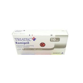 Triatec tablet adalah obat untuk membantu mengatasi hipertensi dan gagal jantung kongestif