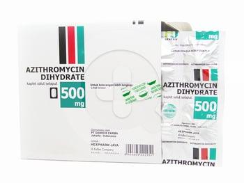 Azithromycin Hexpharm Kaplet 500 mg  harga terbaik