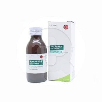 Kalpepsa suspensi adalah obat untuk membantu mengobati gastritis, tukak lambung, dan duodenum