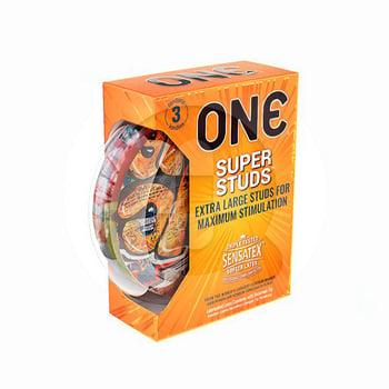ONE Kondom Super Studs  harga terbaik