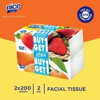 Nice Tissue Wajah Soft Pack 200 Sheets  harga terbaik 18900