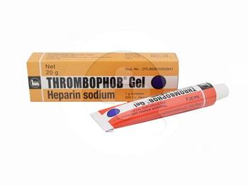Thrombophob gel adalah obat yang digunakan untuk mencegah penggumpalan darah di bawah kulit
