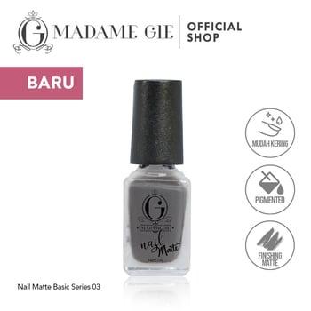 Madame Gie Nail Matte 03 Greyhound harga terbaik 7200