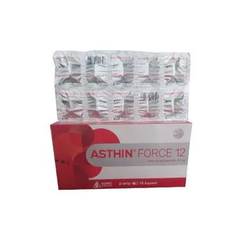 Asthin Force kapsul adalah suplemen antioksidan yang dapat membantu memelihara kesehatan tubuh