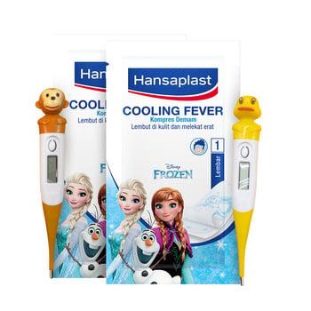 Hansaplast Cooling Fever Frozen GET Digital Thermometer harga terbaik
