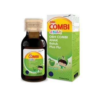 OBH Combi Anak Batuk Plus Flu Rasa Apel Sirup 60 mL harga terbaik 15955