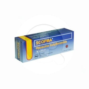 Scopma Kaplet adalah obat untuk meredakan kram perut
