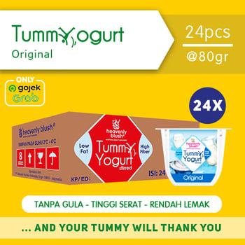 Heavenly Blush Tummy Yogurt Stirred Original 80 g  harga terbaik 300000