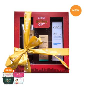 Value Pack Erha Holiday Acne Treatment For Men Series harga terbaik