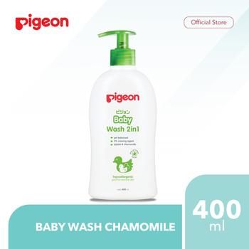 Pigeon Baby Wash Chamomile 400 mL harga terbaik 56000