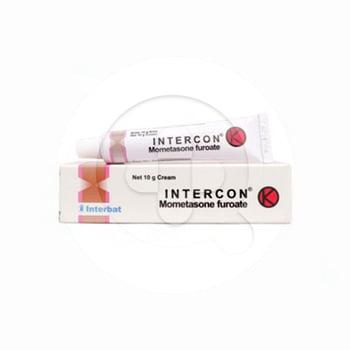 Intercon Krim 10 g adalah obat untuk mengatasi peradangan dan gatal pada kulit.