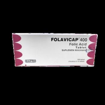 Folavicap Tablet 400 mcg