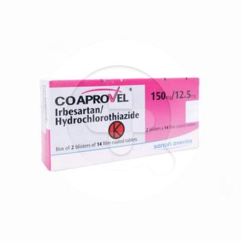 Coaprovel adalah obat untuk hipertensi atau darah tinggi