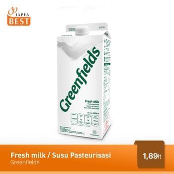 Greenfields Fresh Milk / Susu Pasteurisasi 1.89 Liter harga terbaik