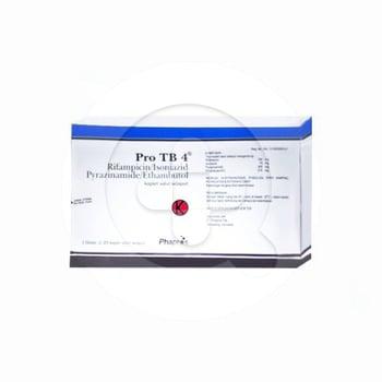 Pro TB 4 kaplet adalah obat untuk mengobati TBC atau penyakit tuberkulosis
