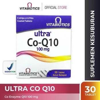Vitabiotics Ultra Co Q10 Tablet  harga terbaik 223366