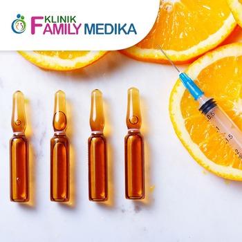Injeksi Vitamin C di Klinik Family Medika, Serang, Banten