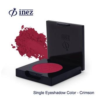 Inez Single Eyeshadow Color Crimson harga terbaik