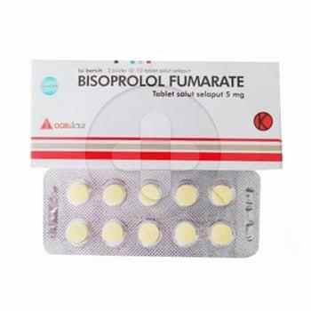 Bisoprolol OGB Dexa Medica Tablet 5 mg  harga terbaik 6505