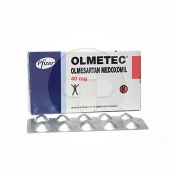 Olmetec berfungsi untuk pengobatan hipertensi esensial