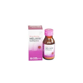 Helixim sirup adalah antibiotik untuk mengatasi berbagai macam infeksi akibat bakteri.