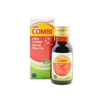 OBH Combi Batuk Plus Flu Rasa Menthol Sirup 60 mL harga terbaik 13261