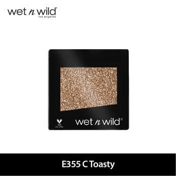 Wet N Wild Color Icon Eyeshadow Glitter Single E355 C Toasty harga terbaik 69000