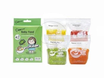 Sunmum Food Storage Bags Kantong MPASI Bayi  harga terbaik 56050