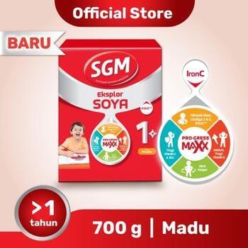 sgm soya,SGM Eksplor SOYA Susu Pertumbuhan 1-5 Tahun Madu 700 g