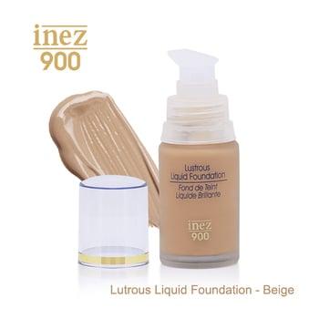 Inez 900 Lustrous Liquid Foundation - Beige harga terbaik