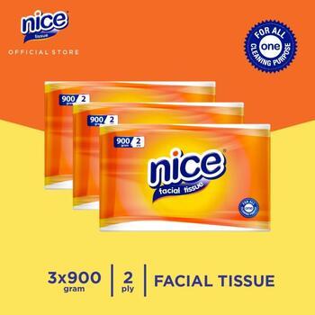 Nice Tissue Wajah Kiloan 900 g - Bundle 3 harga terbaik 135300
