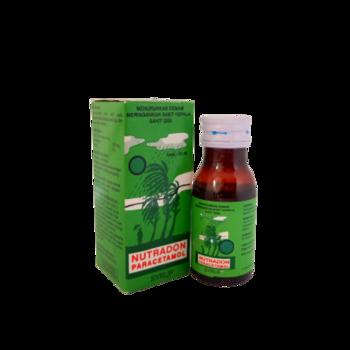 Nutradon sirup 60 ml untuk meringankan rasa sakit pada keadaan sakit kepala, sakit gigi dan menurunkan demam