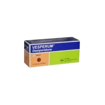 Vesperum tablet adalah obat yang digunakan untuk mengatasi mual dan muntah