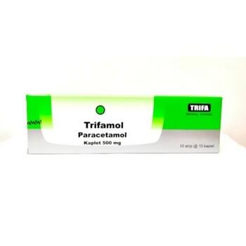 Trifamol kaplet adalah obat untuk membantu menurunkan demam dan meredakan nyeri
