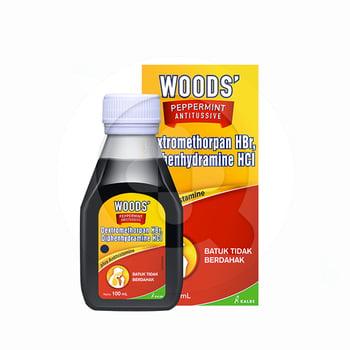 Woods Peppermint Antitussive Sirup 100 ml harga terbaik 34028