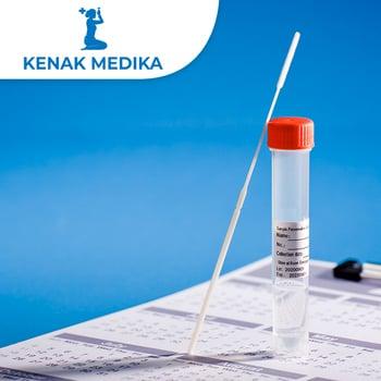 Rapid Swab Antigen Test COVID-19 di Klinik Kenak Medika, Gianyar, Bali