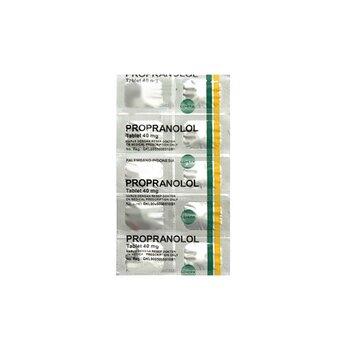 Propranolol Tablet adalah obat untuk mengobati tekanan darah tinggi