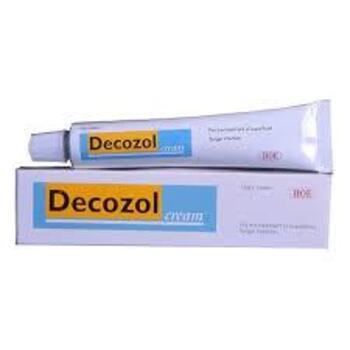Decozol krim adalah obat untuk mengatasi infeksi kulit yang disebabkan oleh jamur.