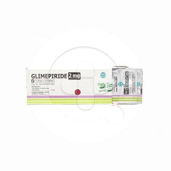 Glimepiride Hexpharm Tablet 2 mg  harga terbaik