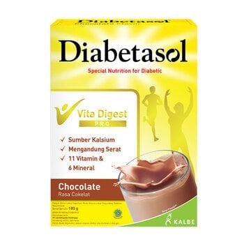 Diabetasol Susu Rasa Chocolate 180 g harga terbaik