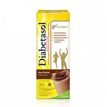 Diabetasol Susu UHT Rasa Coklat 200 ml harga terbaik