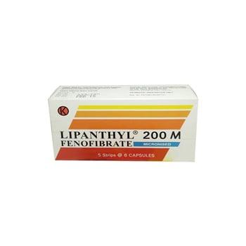 Lipanthyl Kapsul adalah obat untuk hiperkolesterolemia (tipe IIa) dan hiperlipidemia kombinasi
