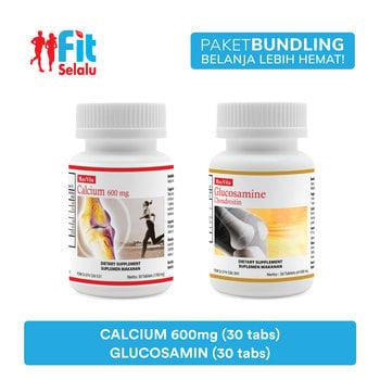 Paket Maxvita Calcium 600mg 30 Tablet & Maxvita Glucosamine Chondroitin 30 Tablet harga terbaik 242450