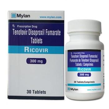 Ricovir tablet digunakan untuk terapi tunggal ataupun kombinasi pada virus hepatitis B kronik.