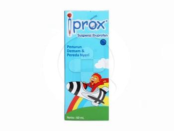 Iprox suspensi berguna untuk meredakan peradangan yang menyebabkan tubuh terasa nyeri dan demam